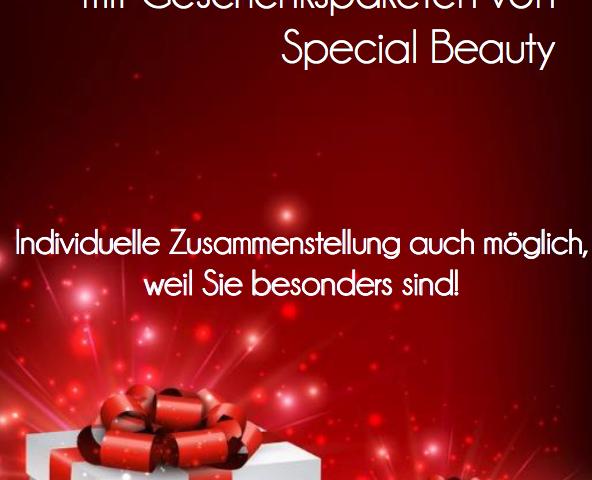 Weihnachtsgeschenk, Kosmetikstudio
